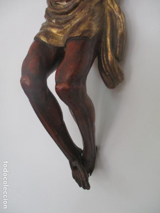 Arte: Impresionante Escultura, Jesucristo - Talla de Madera, Posible Gregorio Fernández - S. XVI-XVII - Foto 14 - 171334888