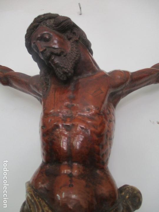 Arte: Impresionante Escultura, Jesucristo - Talla de Madera, Posible Gregorio Fernández - S. XVI-XVII - Foto 17 - 171334888