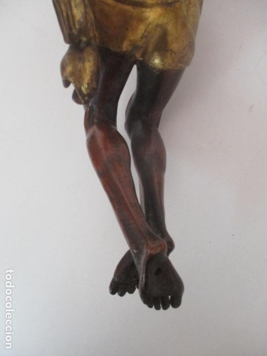 Arte: Impresionante Escultura, Jesucristo - Talla de Madera, Posible Gregorio Fernández - S. XVI-XVII - Foto 25 - 171334888
