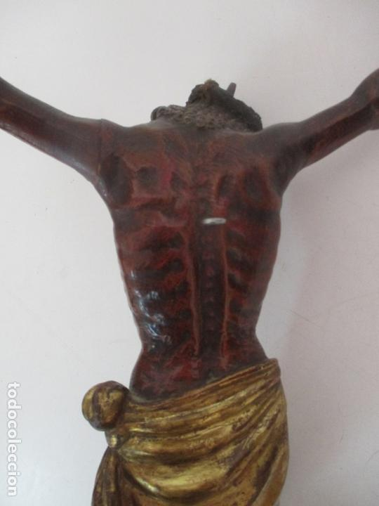 Arte: Impresionante Escultura, Jesucristo - Talla de Madera, Posible Gregorio Fernández - S. XVI-XVII - Foto 27 - 171334888