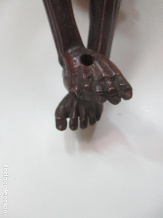 Arte: Impresionante Escultura, Jesucristo - Talla de Madera, Posible Gregorio Fernández - S. XVI-XVII - Foto 30 - 171334888