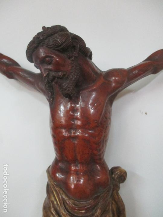 Arte: Impresionante Escultura, Jesucristo - Talla de Madera, Posible Gregorio Fernández - S. XVI-XVII - Foto 31 - 171334888