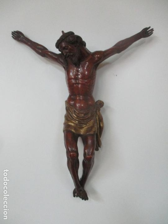 Arte: Impresionante Escultura, Jesucristo - Talla de Madera, Posible Gregorio Fernández - S. XVI-XVII - Foto 32 - 171334888