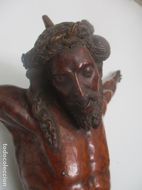 IMPRESIONANTE ESCULTURA, JESUCRISTO - TALLA DE MADERA, POSIBLE GREGORIO FERNÁNDEZ - S. XVI-XVII (Arte - Arte Religioso - Escultura)