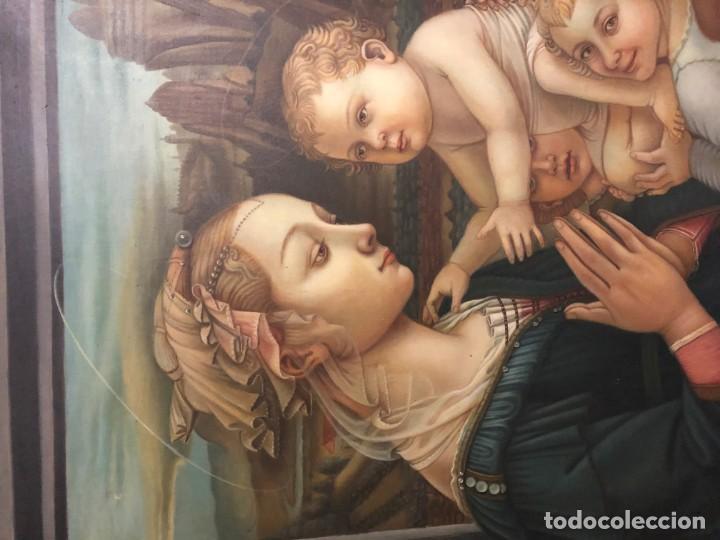 Arte: extraordinaria virgen maria de f. filipo lippi - Foto 2 - 171366558