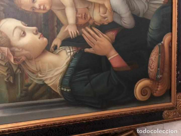 Arte: extraordinaria virgen maria de f. filipo lippi - Foto 4 - 171366558