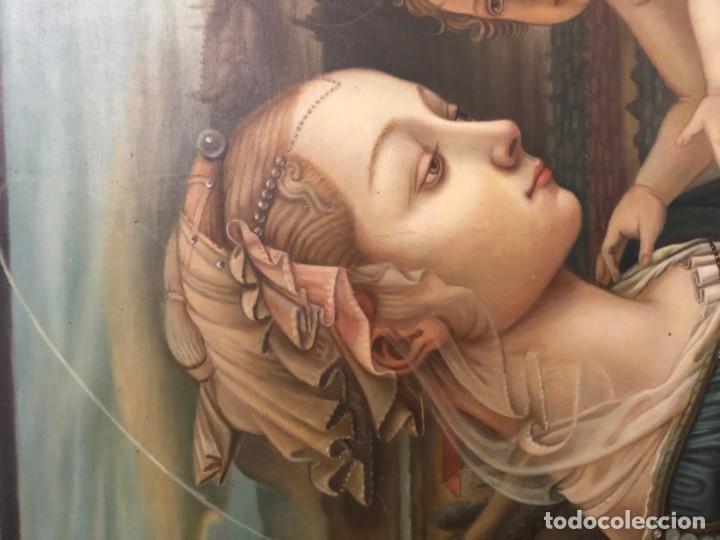 Arte: extraordinaria virgen maria de f. filipo lippi - Foto 6 - 171366558