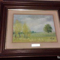 Arte: OLEO M.SOCIAS DE 38X30 PAISAJE. Lote 171367233
