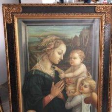 Arte: EXTRAORDINARIA VIRGEN MARIA DE F. FILIPO LIPPI . Lote 171366558
