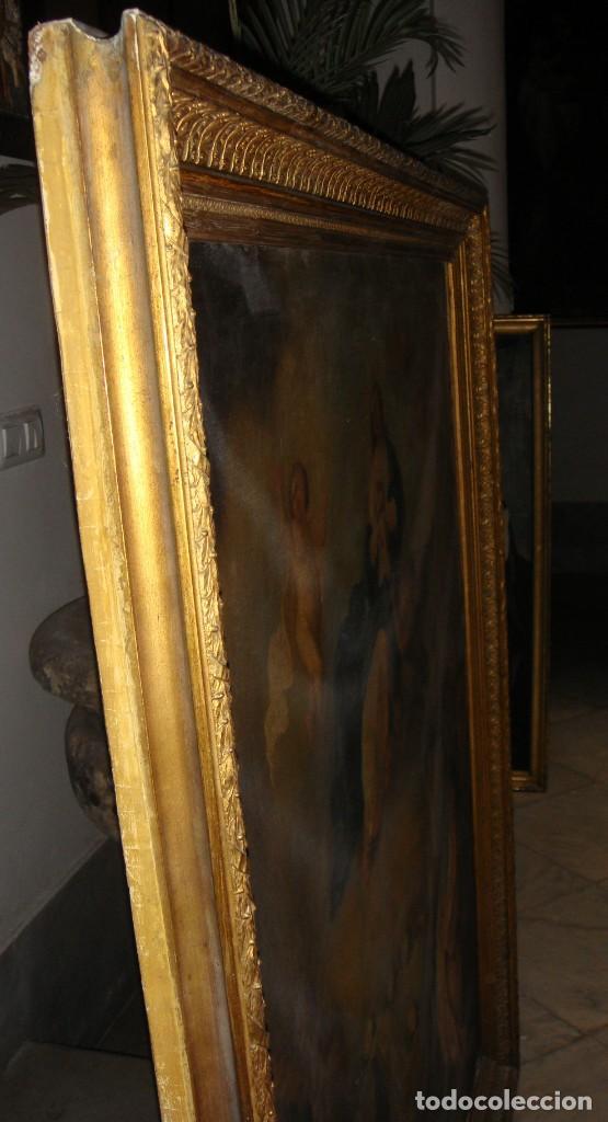 Arte: Óleo sobre lienzo. S.XIX. Pintura religiosa. Asunción de la Virgen. - Foto 14 - 171442574