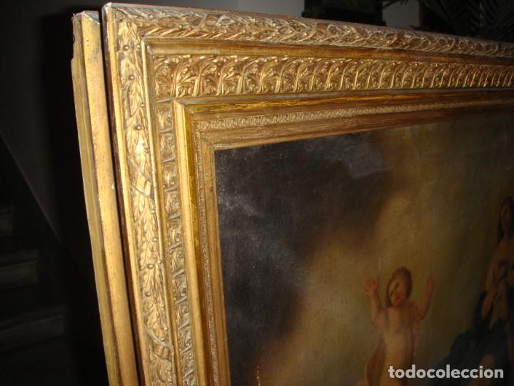 Arte: Óleo sobre lienzo. S.XIX. Pintura religiosa. Asunción de la Virgen. - Foto 15 - 171442574