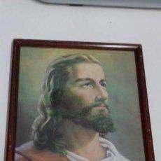 Arte: CUADRO LAMINA ENMARCADA JESUCRISTO. Lote 171463524