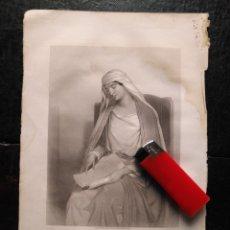 Arte: 1856 SANTA ANA LA VIRGEN 25 X 18 CM GRABADO ORIGINAL AL COBRE - G.STAAL. / W. H. EGLETON.. Lote 171520363