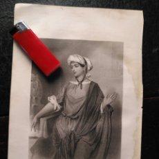 Arte: 1856 SANTA MARTA 25 X 18 CM GRABADO ORIGINAL AL COBRE - G.STAAL. / B. EYLES. Lote 171520775