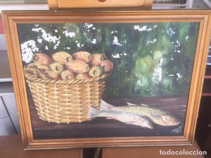 CUADRO OLEO ANTIGUO FIRMADO (Arte - Arte Religioso - Pintura Religiosa - Oleo)
