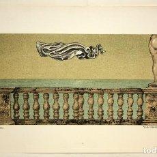 Arte: SUBIRACHS -LITOGRAFIA - TITULADA TRAVERTINO - 113/250.. Lote 171978134