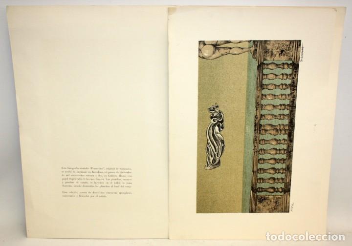 Arte: SUBIRACHS -LITOGRAFIA - TITULADA TRAVERTINO - 113/250. - Foto 2 - 171978134