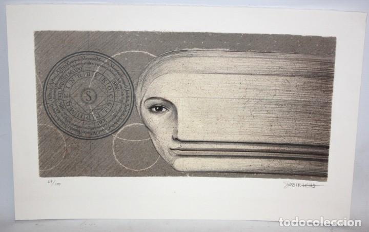 JOSEP MARIA SUBIRACHS - LITOGRAFIA - 67/100.FIRMADA A LAPIZ. (Arte - Arte Religioso - Litografías)