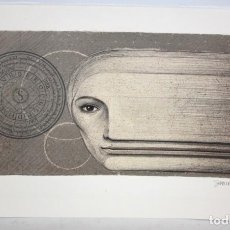 Arte: JOSEP MARIA SUBIRACHS - LITOGRAFIA - 67/100.FIRMADA A LAPIZ.. Lote 171996633