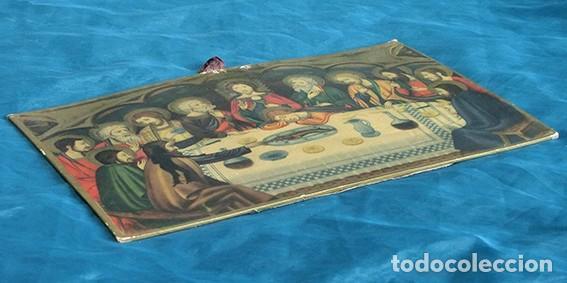 Arte: LA ÚLTIMA CENA - ANTIGUA LITOGRAFÍA RELIGIOSA - JAIME SERRA - MARTÍ Y MARI - BARCELONA - Foto 7 - 172046968