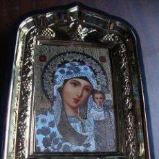 Arte: MUY BONITA CAPILLA DE MESA TIPO ICONO MEDIDAS 13 X 10 CM PARFECTO ESTADO. Lote 172058670