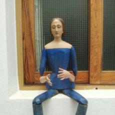 Arte: VIRGEN DOLOROSA CAP I POTA, TALLA EN MADERA.. Lote 172117903