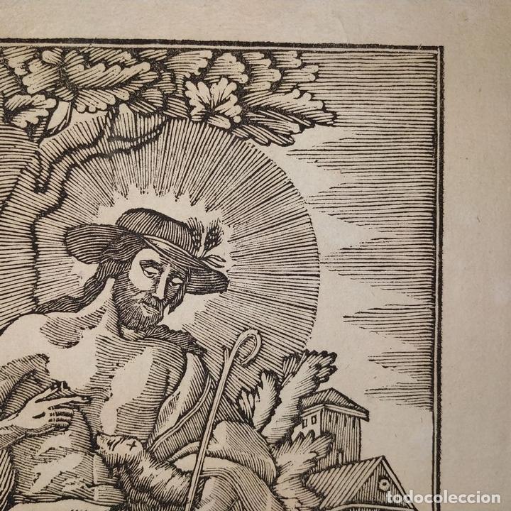 Arte: EL DIVINO PASTOR. SANTA ELENA. GRABADOS. PABLO ROCA. MANRESA. PRINCIPIO XIX - Foto 5 - 172231947