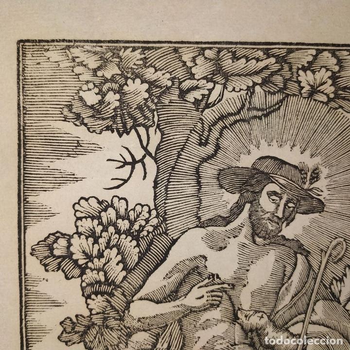 Arte: EL DIVINO PASTOR. SANTA ELENA. GRABADOS. PABLO ROCA. MANRESA. PRINCIPIO XIX - Foto 6 - 172231947