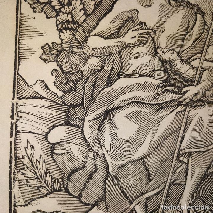Arte: EL DIVINO PASTOR. SANTA ELENA. GRABADOS. PABLO ROCA. MANRESA. PRINCIPIO XIX - Foto 7 - 172231947