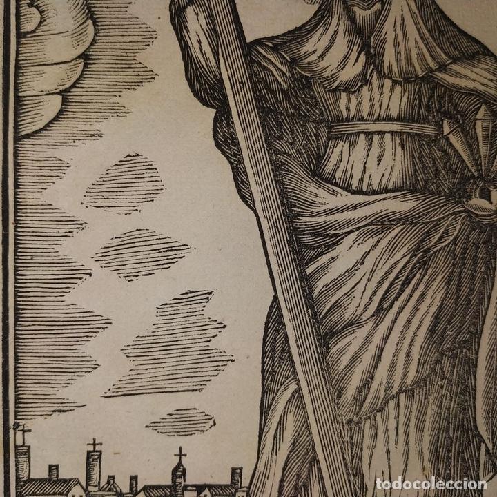 Arte: EL DIVINO PASTOR. SANTA ELENA. GRABADOS. PABLO ROCA. MANRESA. PRINCIPIO XIX - Foto 12 - 172231947