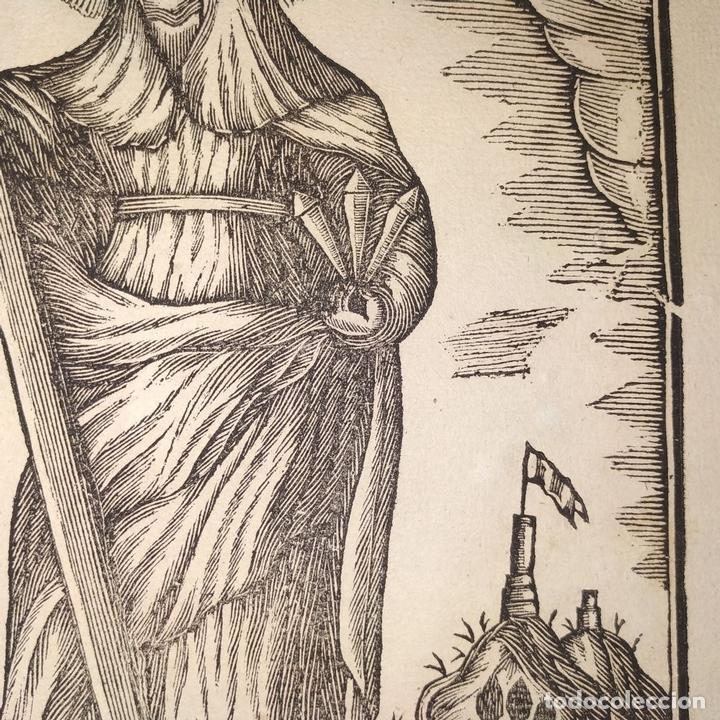 Arte: EL DIVINO PASTOR. SANTA ELENA. GRABADOS. PABLO ROCA. MANRESA. PRINCIPIO XIX - Foto 14 - 172231947