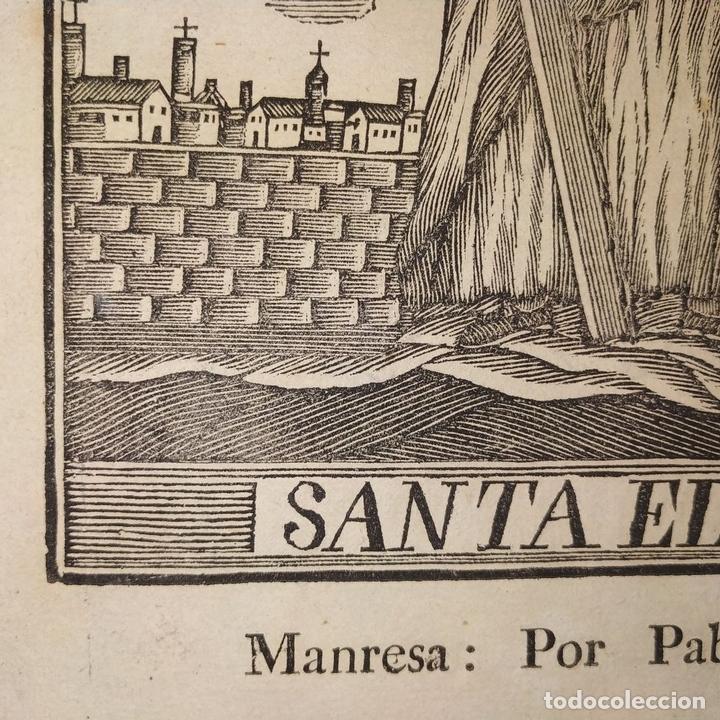 Arte: EL DIVINO PASTOR. SANTA ELENA. GRABADOS. PABLO ROCA. MANRESA. PRINCIPIO XIX - Foto 16 - 172231947