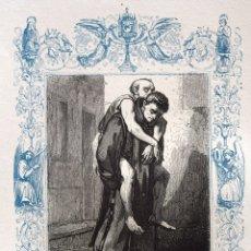 Arte: SAN JUAN DE DIOS, FUNDADOR - GRABADO DÉCADAS 1850-1860 - BUEN ESTADO. Lote 172249188