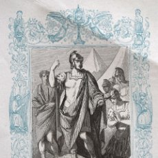 Arte: SAN MAURICIO, MARTIR - GRABADO DÉCADAS 1850-1860 - BUEN ESTADO. Lote 172286177