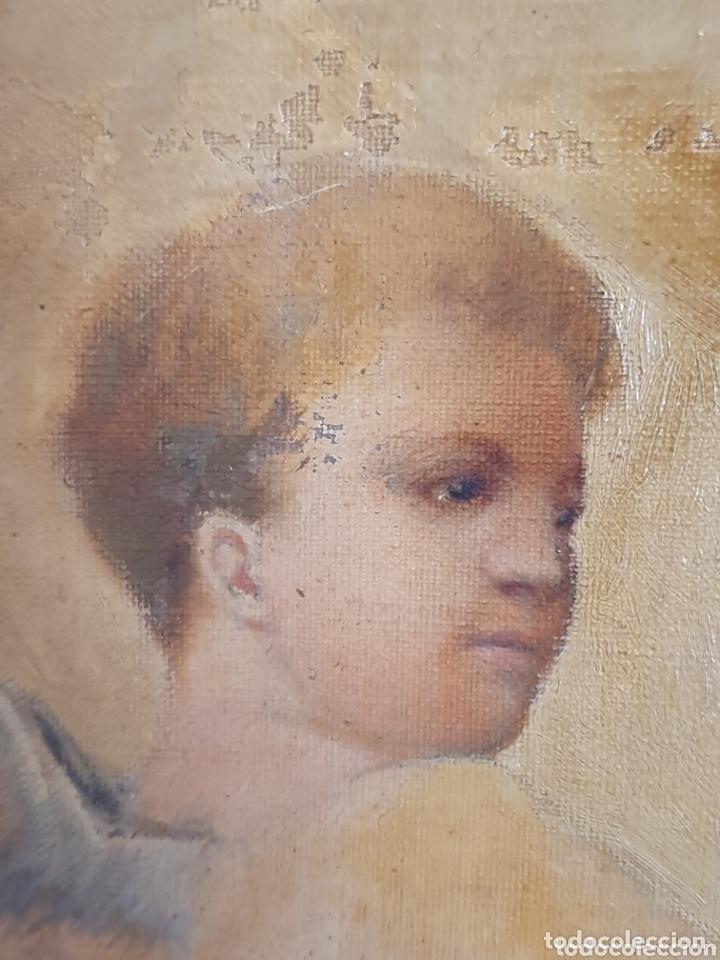 Arte: OLEO SOBRE LIENZO EL EXTASIS DE SANTA TERESA DE JESÚS S.XVIII-XIX - Foto 3 - 160178690