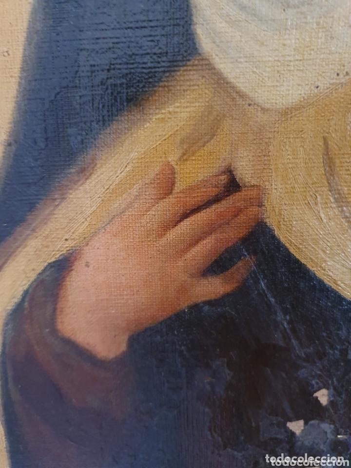 Arte: OLEO SOBRE LIENZO EL EXTASIS DE SANTA TERESA DE JESÚS S.XVIII-XIX - Foto 6 - 160178690