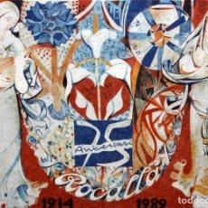 Arte: JORDI ALUMA - 75 ANIVERSARIO ROCALLA - LITOGRAFIA - 5/15 - DEDICADA A MACIA ALAVEDRA - 48 X 60 CM.. Lote 172310693