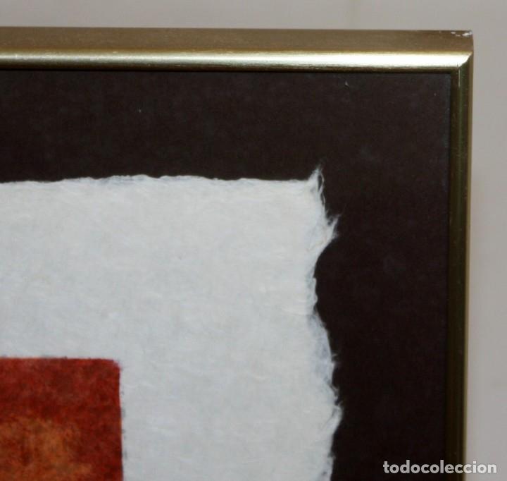 Arte: JORDI ALUMA - 75 ANIVERSARIO ROCALLA - LITOGRAFIA - 5/15 - DEDICADA A MACIA ALAVEDRA - 48 X 60 CM. - Foto 10 - 172310693