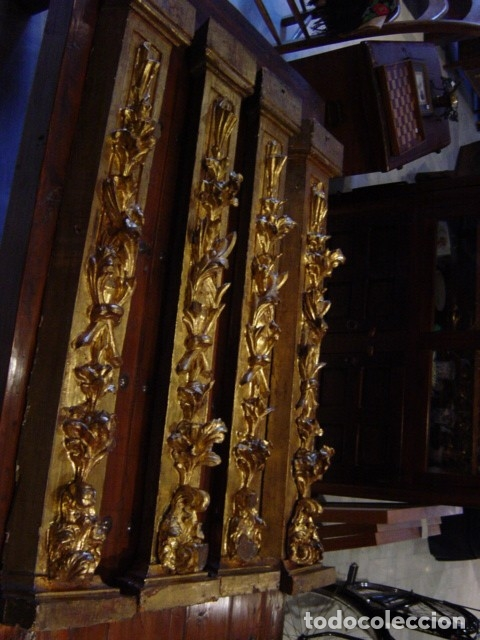 RETABLOS SIGLO XVII DORADOS (Arte - Arte Religioso - Retablos)