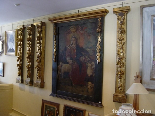 Arte: Retablos Siglo XVII dorados - Foto 5 - 172363330