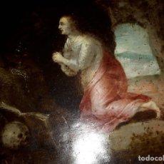Arte: MAGDALENA COBRE FLAMENCO CON DEMONIOS,POSIBLE ITALIA ANTIGUO. Lote 172363874