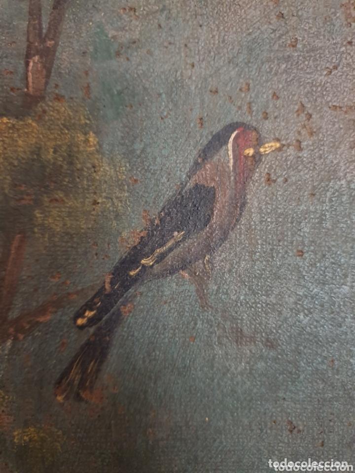 Arte: OLEO PINTADO SOBRE LIENZO DE LA DIVINA PASTORA S XVIII-XIX POR FAVOR LEER DESCRIPCIÓN - Foto 2 - 172394347