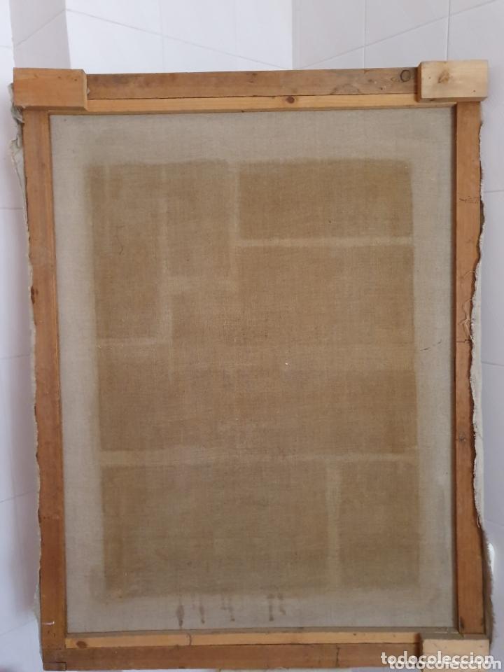 Arte: OLEO PINTADO SOBRE LIENZO DE LA DIVINA PASTORA S XVIII-XIX POR FAVOR LEER DESCRIPCIÓN - Foto 7 - 172394347