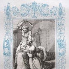 Arte: SAN ROGELIO, MARTIR - GRABADO DÉCADAS 1850-1860 - BUEN ESTADO. Lote 172419648