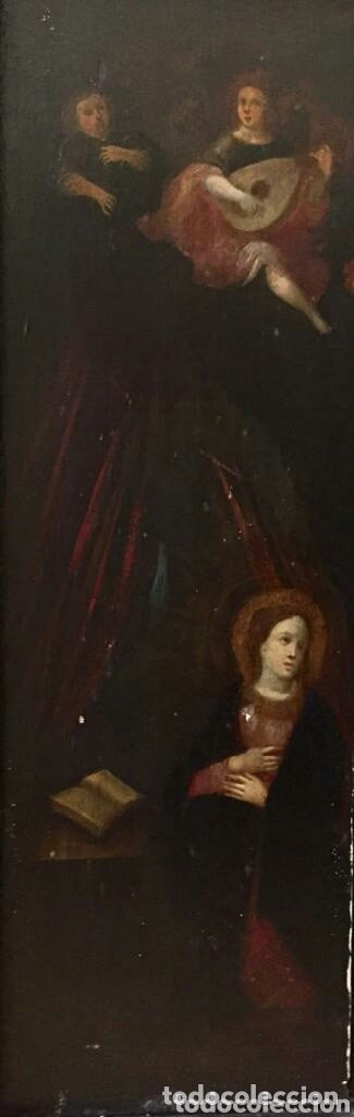 Arte: Escena religiosa. Óleo. - Foto 3 - 172629487