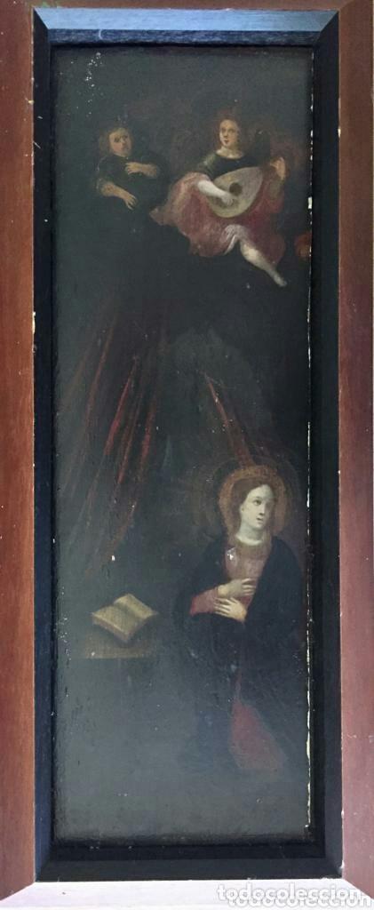 Arte: Escena religiosa. Óleo. - Foto 4 - 172629487