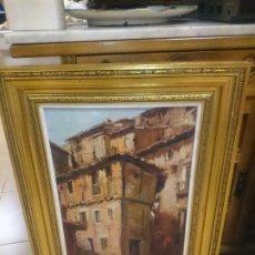 Arte: ALBARRACIN TERUEL -PINTOR VILLARREOLENSE -MARTI FONT. Lote 172630438