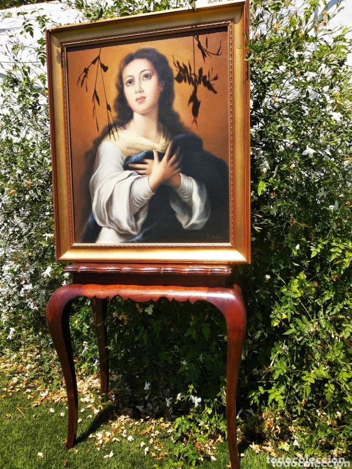 Arte: Cuadro Lienzo Virgen Inmaculada Concepción - Foto 2 - 172632972