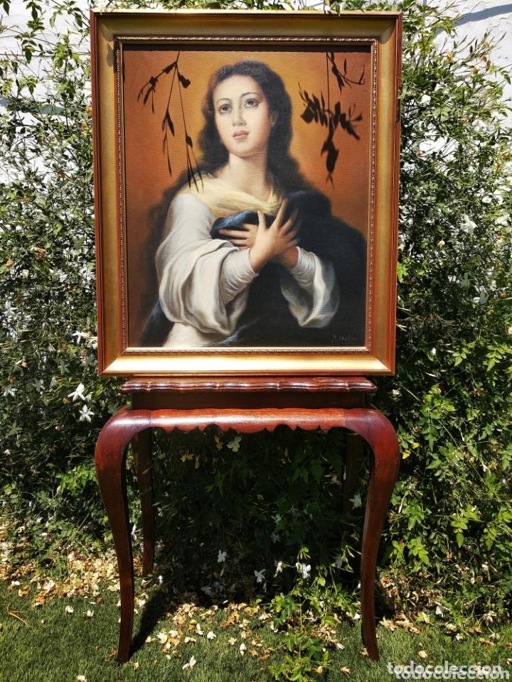 Arte: Cuadro Lienzo Virgen Inmaculada Concepción - Foto 4 - 172632972