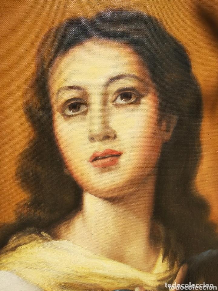 Arte: Cuadro Lienzo Virgen Inmaculada Concepción - Foto 5 - 172632972